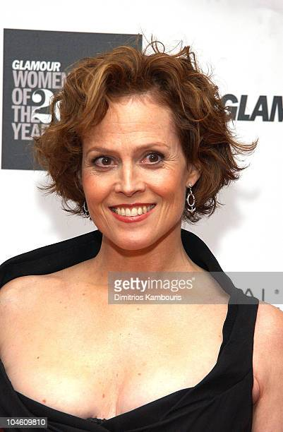 Sigourney Weaver during 13th Annual Glamour Magazine's Women of the Year Awards Arrivals at Metropolitan Museum of Art in New York City New York...
