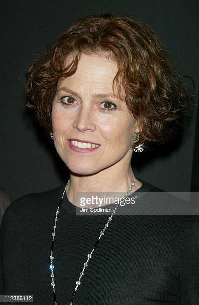 Sigourney Weaver during 2002 IFP/ New York Gotham Awards at Pier Sixty Chelsea Piers in New York City New York United States