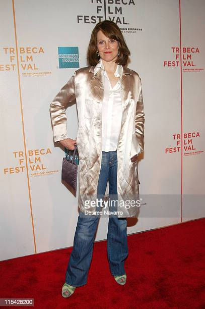 Sigourney Weaver during 5th Annual Tribeca Film Festival Snow Cake' Premiere at Tribeca Performing Arts in New York City New York United States