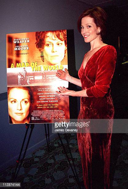 Sigourney Weaver during A Map Of The World Premiere New York at Loews Village Cinema in New York City New York United States