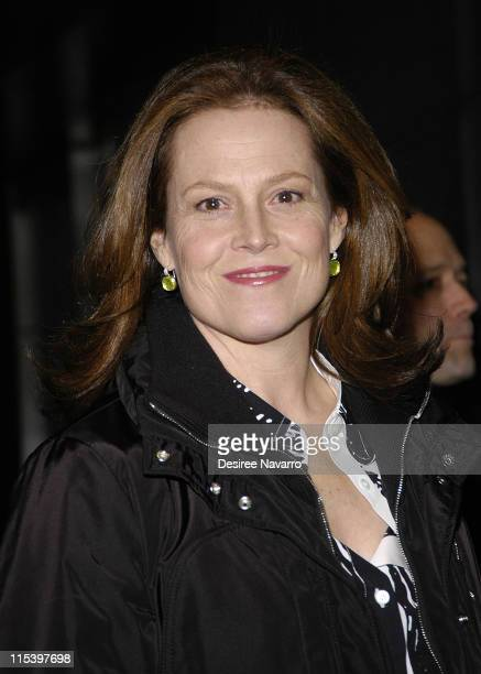 Sigourney Weaver during 'Brokeback Mountain' New York City Premiere Outside Arrivals at Loews Lincoln Square in New York City New York United States