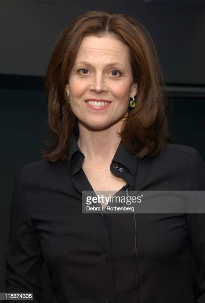Sigourney Weaver during Sigourney Weaver Sighting in New York City February 8 2005 at New York City in New York City New York United States