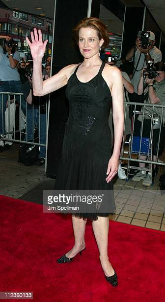 Sigourney Weaver during 'Tadpole' Premiere New York at Cinema 2 in New York City New York United States