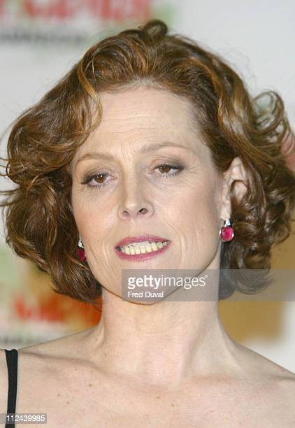Sigourney Weaver during The 2004 Empire Film Awards at The Dorchester Hotel in London United Kingdom