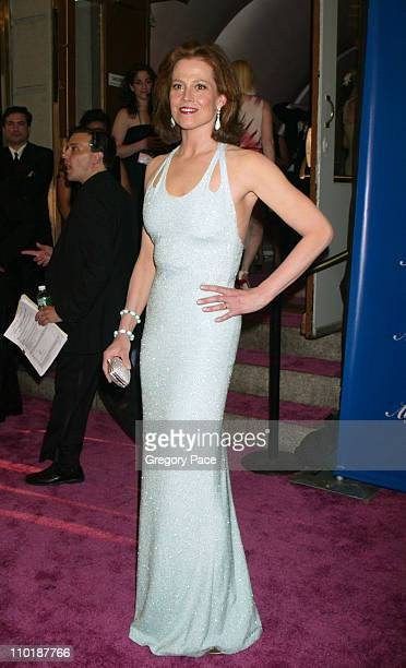 Sigourney Weaver during The Fragrance Foundation's 32nd Annual 'Fifi' Awards Arrivals at Hammerstein Ballroom in New York City New York United States