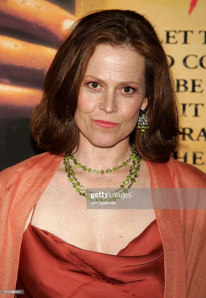 Sigourney Weaver during 'The Village' New York Premiere - Arrivals at Prospect Park in New York City, New York, United States.