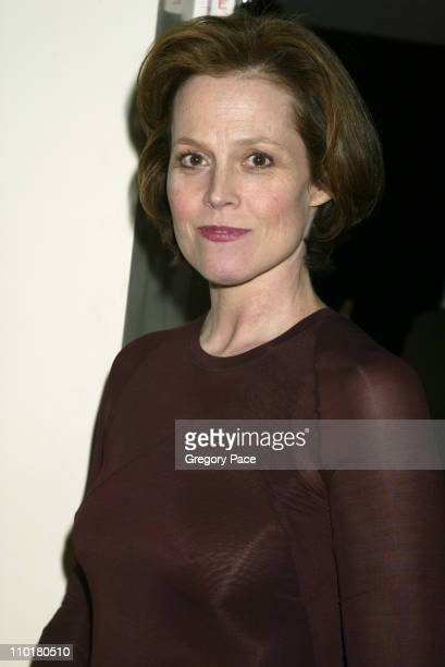 Sigourney Weaver in Donna Karan during Opening night party The Mercy Seat in New York City New York United States