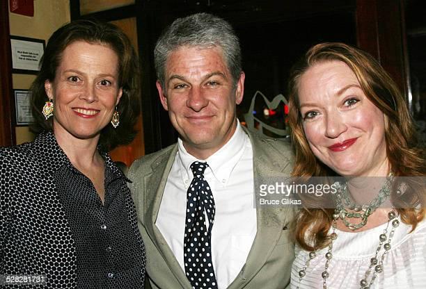Sigourney Weaver Jim Simpson director and Christine Nielsen