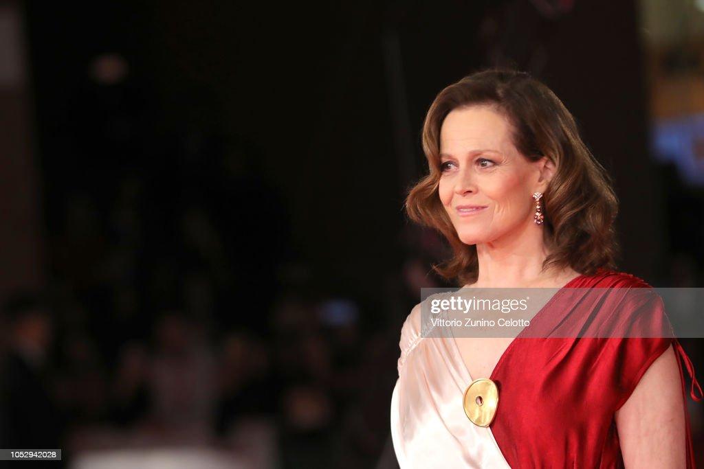 Sigourney Weaver Red Carpet - 13th Rome Film Fest : News Photo