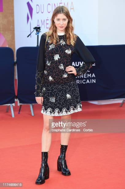 Sigrid Bouaziz attends the Award Ceremony during the 45th Deauville American Film Festival on September 14, 2019 in Deauville, France.