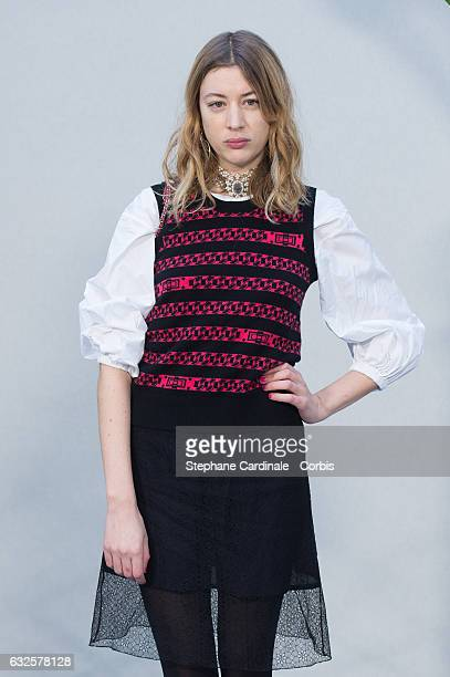 Sigrid Bouaziz attends the Chanel Haute Couture Spring Summer 2017 show as part of Paris Fashion Week on January 24, 2017 in Paris, France.