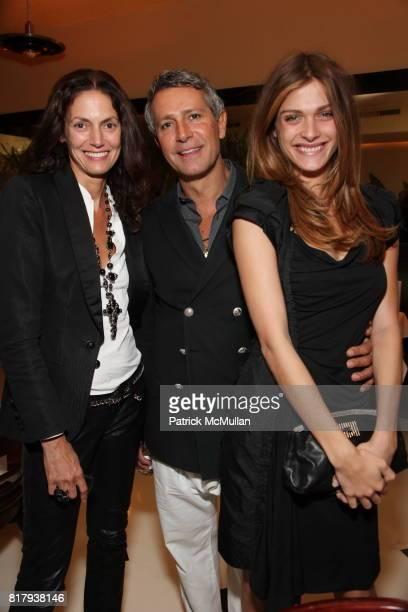 Sigrid de L'Ebine Carlos Souza and Elisa Sednaoui attend Victoria Brynner and Nadja Swarovski's Dinner in celebration of the publication of YUL at...
