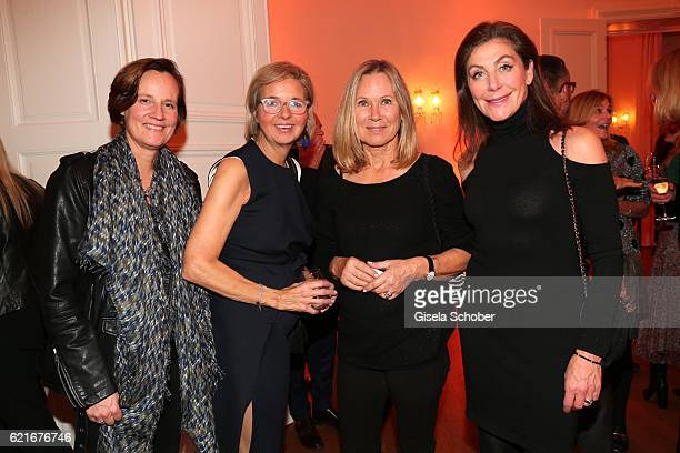 Sigrid Engelniederhammer Inga GrieseSchwenkow Sybille Beckenbauer and Alexandra von Rehlingen during the birthday party for the 10th anniversary of...