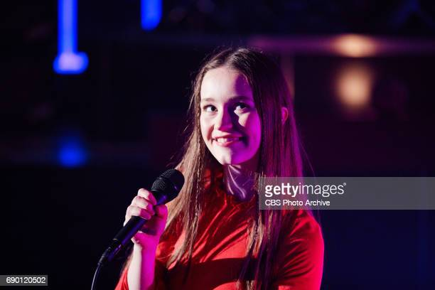 Sigrid performs during 'The Late Late Show with James Corden' Thursday May 25 2017 On The CBS Television Network