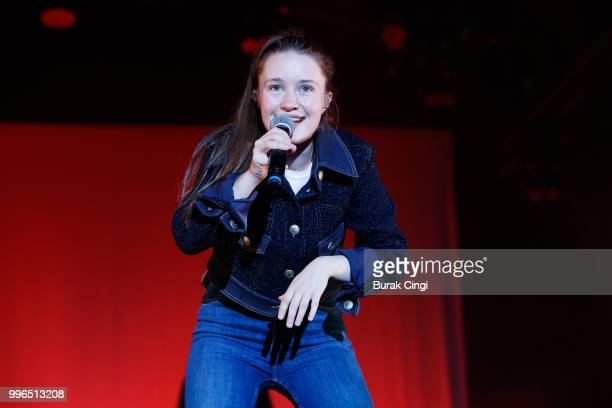 Sigrid performs during the Summer Series at Somerset House on July 11 2018 in London England