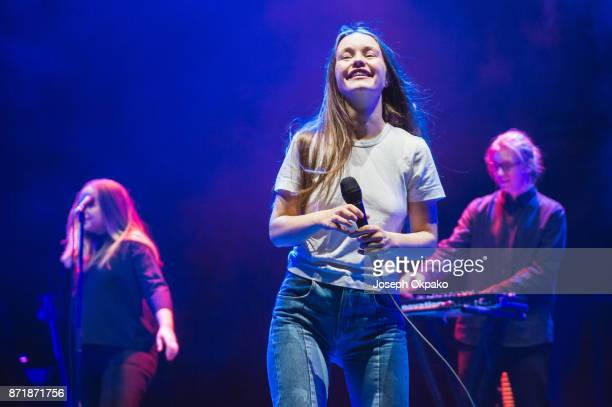 Sigrid performs live on stage at O2 Academy Brixton on November 8 2017 in London England