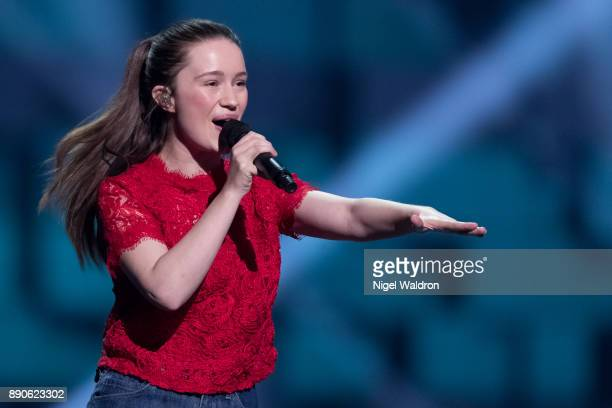 Sigrid performs live on stage during the Nobel Peace Prize Concert 2017 at the Telenor Arena The Nobel Peace Prize Concert is hosted by David Oyelowo...