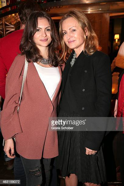 Sigrid Streletzki and her daughter Kira Streletzki L during 'The Circle' After Show Cocktail 65th Berlinale International Film Festival on February...
