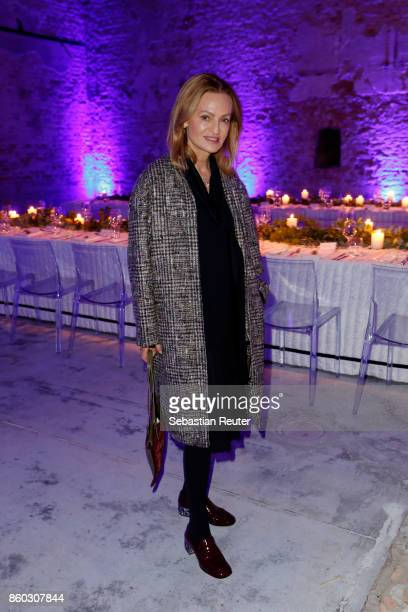 Sigrid Streletzki attends Moncler X Stylebopcom launch event at the Musikbrauerei on October 11 2017 in Berlin Germany