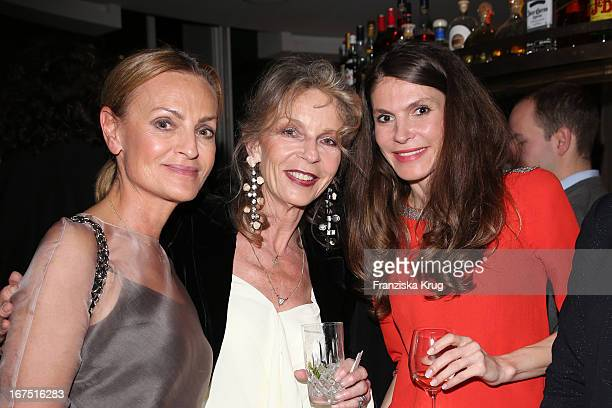 Sigrid Streletzki Trixie Milles and Andrea Dibelius attend the MARRAKECH Biennale Hosts Event on April 25 2013 in Berlin Germany