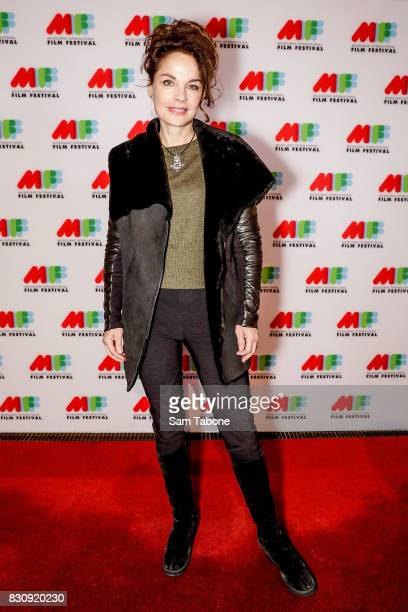 Sigrid Thornton arrives ahead of a screening of Shame as part of the 66th Melbourne International Film Festival on August 13 2017 in Melbourne...