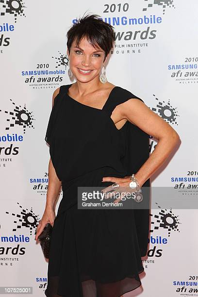 Sigrid Thornton arrives at the 2010 Samsung Mobile AFI awards at the Regent Theatre on December 11 2010 in Melbourne Australia