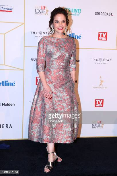 Sigrid Thornton arrives at the 60th Annual Logie Awards at The Star Gold Coast on July 1 2018 in Gold Coast Australia