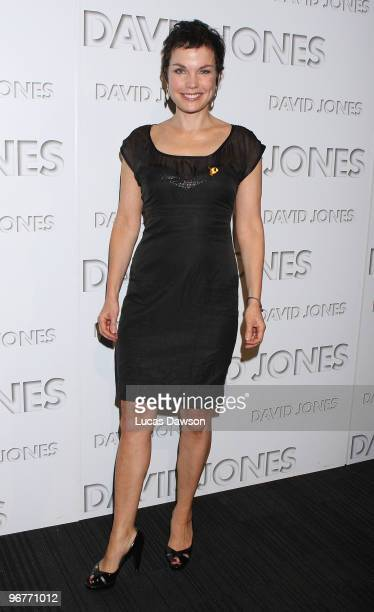 Sigrid Thornton arrives at the David Jones Autumn/Winter 2010 Season Launch at Central Pier Docklands on February 17 2010 in Melbourne Australia