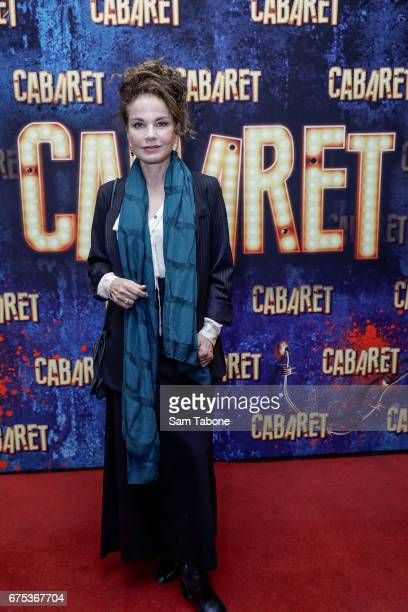 Sigrid Thornton arrives at the opening night of'Cabaret' at The Athenatheum Theatre on May 1 2017 in Melbourne Australia