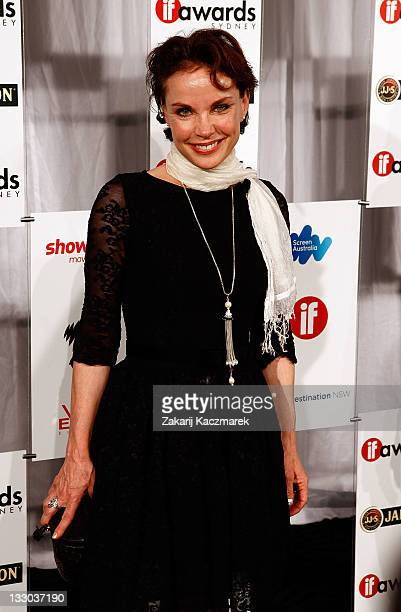 Sigrid Thornton at the 2011 Inside Film Awards on November 16 2011 in Sydney Australia