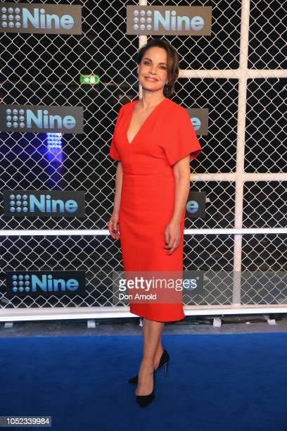 Sigrid Thornton attends the 2019 Nine Upfronts on October 17 2018 in Sydney Australia