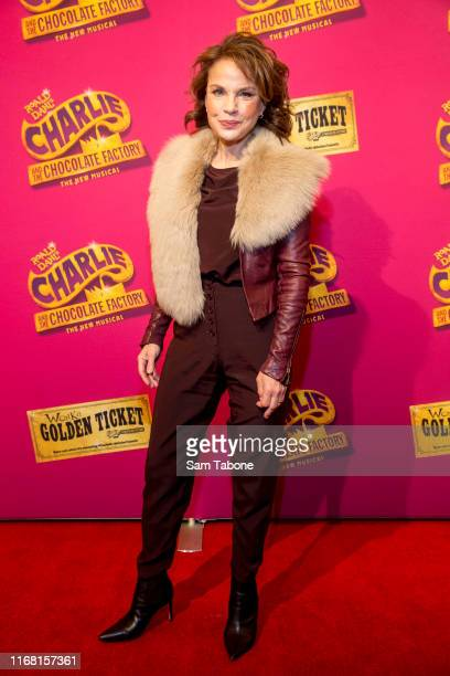 Sigrid Thornton attends the Charlie And The Chocolate Factory Opening Night at Her Majesty's Theatre on August 15 2019 in Melbourne Australia