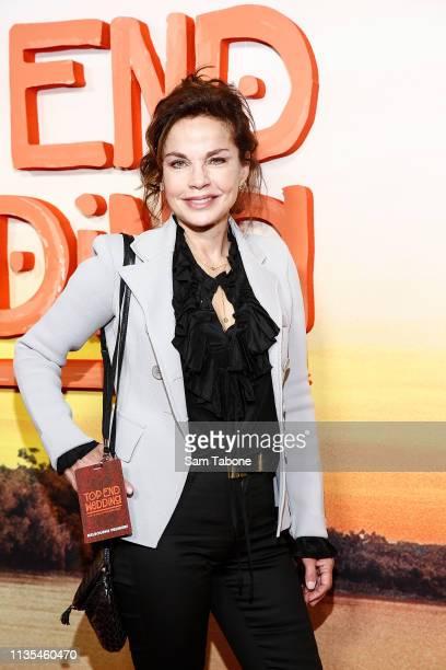 Sigrid Thornton attends the Melbourne Premiere of Top End Wedding at Rivoli Cinemas on April 7 2019 in Melbourne Australia