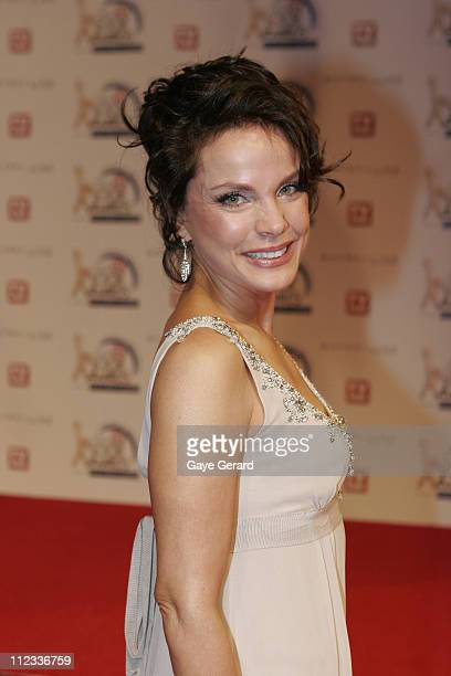 Sigrid Thornton during 2006 TV Week Logie Awards Arrivals at Crown Casino in Melbourne VIC Australia
