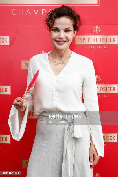 Sigrid Thornton during PiperHeidsieck Australian Open Cocktail Party on January 17 2019 in Melbourne Australia