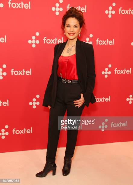 Sigrid Thornton poses during a Foxtel Event at Hordern Pavilion on June 6 2017 in Sydney Australia