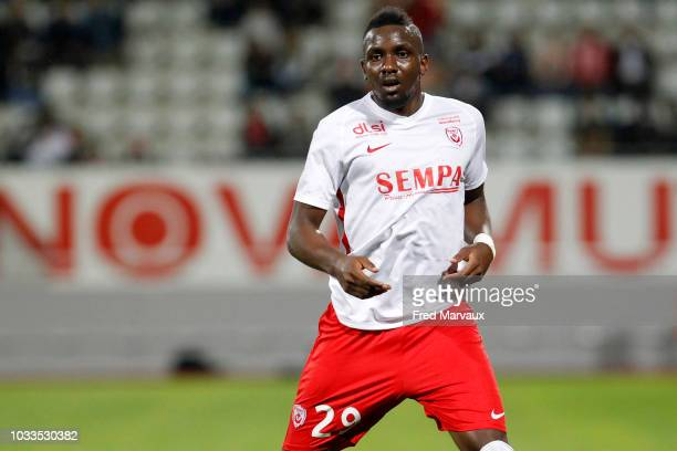 Sihivi Maboulou of Nancy during the French Ligue 2 match between Nancy and Le Havre on September 14 2018 in Nancy France