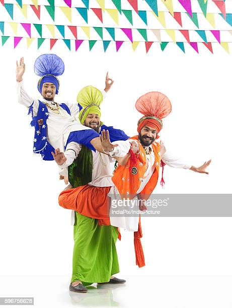 Sikh men enjoying themselves