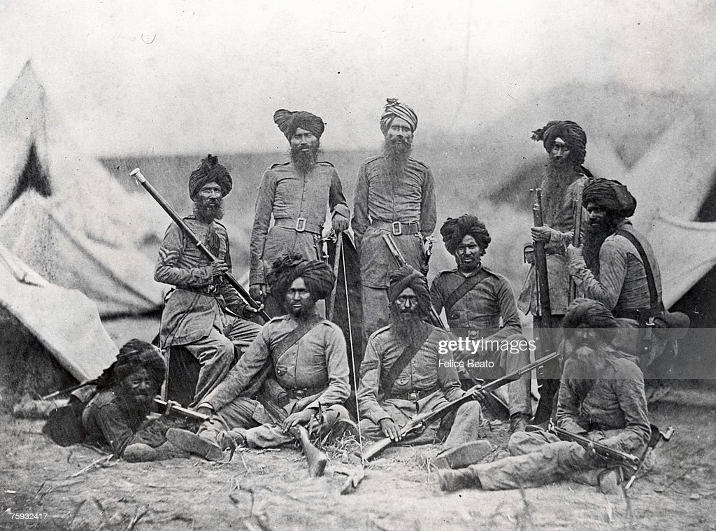 Sikh Soldiers : News Photo