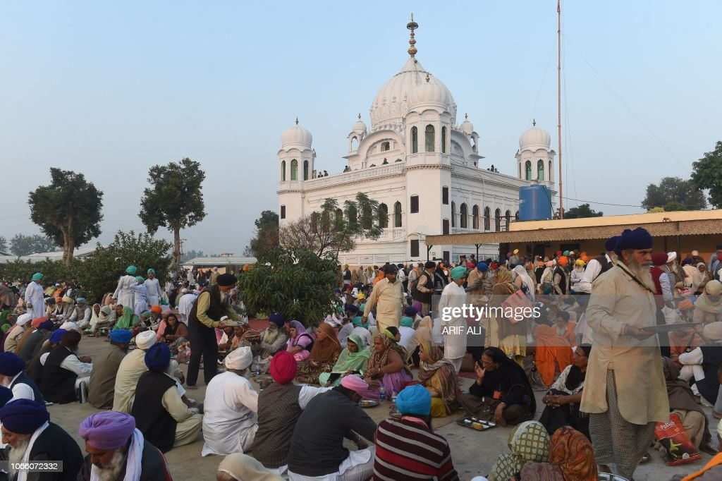 PAKISTAN-INDIA-DIPLOMACY-RELIGION-SIKH : ニュース写真