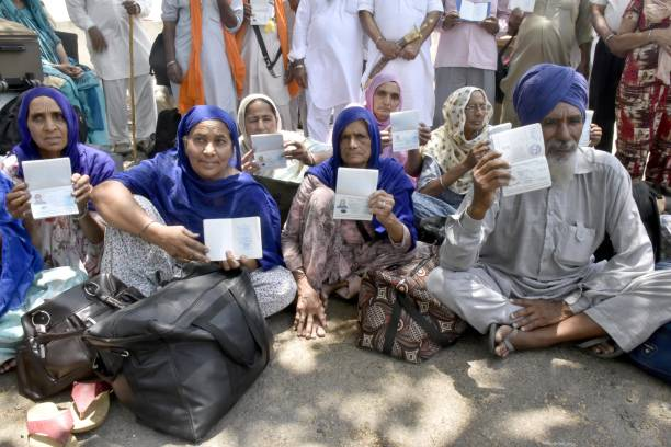 IND: Pakistan-Bound Sikh Pilgrims Stranded At Attari