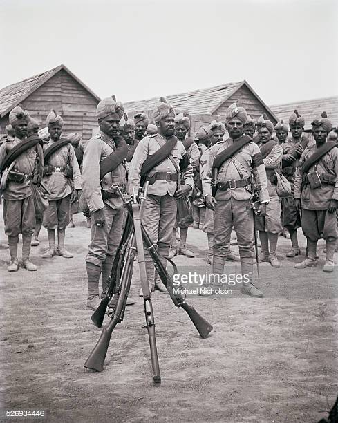 Sikh Troops of the British Indian Army part of the China Relief Expedition during the Boxer Rebellion