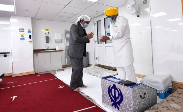GBR: Sikhs Attend Local Temple To Observe Vaisakhi