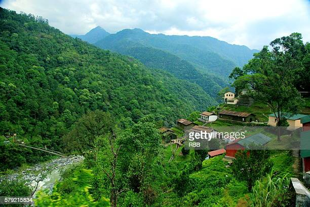 sikkim landscape - sikkim stock pictures, royalty-free photos & images