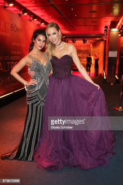 Sila Sahin and Sylvia Walker during the Bambi Awards 2017 at Stage Theater on November 16 2017 in Berlin Germany