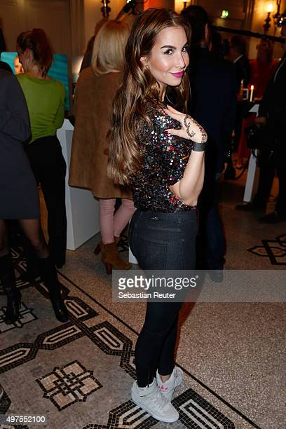 Sila Sahin attends Lambertz presents calendar 2016 at Hotel De Rome on November 17 2015 in Berlin Germany