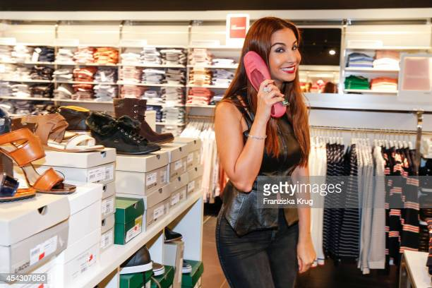 Sila Sahin attends the Late Night Shopping Designer Outlet Soltau on August 28 2014 in Soltau Germany