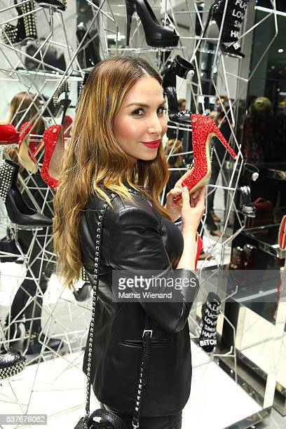 Sila Sahin attends the Philipp Plein Store Event on June 2 2016 in Duesseldorf Germany
