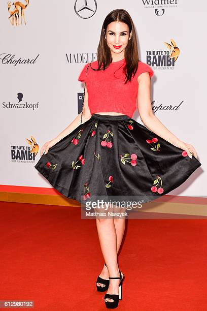 Sila Sahin attends the Tribute To Bambi at Station on October 6, 2016 in Berlin, Germany.