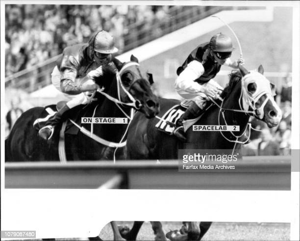 On Stage 1 Spacelab 2Rosehill Race Race 2 Silabtic Marine HcpWinner On StageR to S On StageJockey R Dufficy August 3 1985